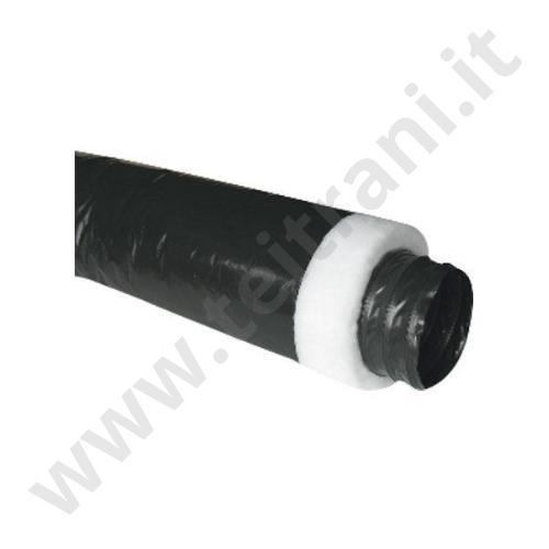 H254 - TUBO FLESSIBILE ISOLATO IN PVC DIAMETRO 254MM  PER ARIA CONDIZIONATA