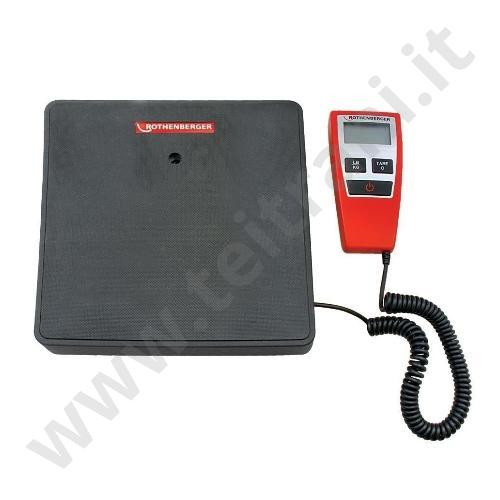R17300416 - ROTHENBERGER BILANCIA DIGITALE  120 KG.