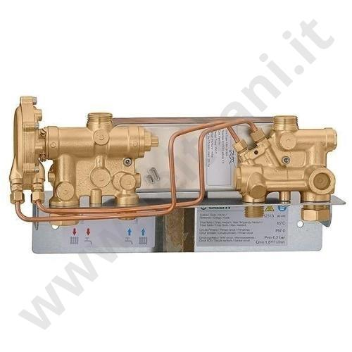 Caleffi satellite d 39 utenza di produzione riscaldamento - Collettore idrico sanitario caleffi ...