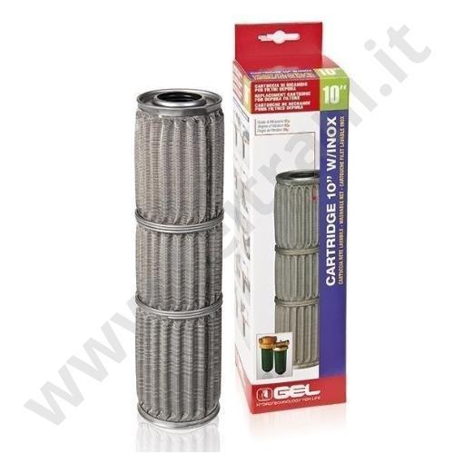 10302060 - GEL CARTUCCIA A RETE INOX 10'' PER FILTRO DEPURA 3000