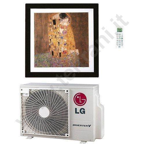 ARTCOOLGALLERY12 - LG CLIMATIZZATORE A PARETE ALTA 12000 BTU DC INVERTER MODELLO ARTCOOL GALLERY AC12FT GAS R32 CON WI-FI INTEGRATO CLASSE A++