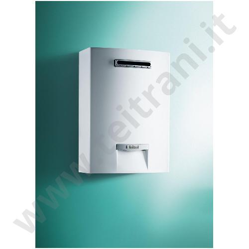 0010022467 - VAILLANT SCALDACQUA MURALE A GAS METANO 26 Kw MODELLO OUTSIDEMAG LOW NOX 158/1-5 RT A CAMERA STAGNA PER ESTERNO