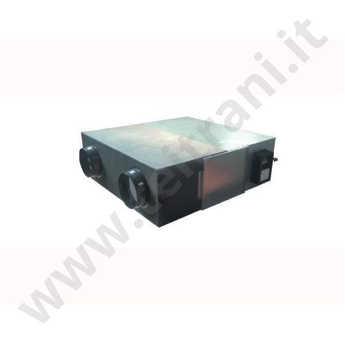2501195AJ - HAIER RECUPERATORE DI CALORE A FLUSSI INCROCIATI SERIE HACI RP25 PORTATA 250 MC/H