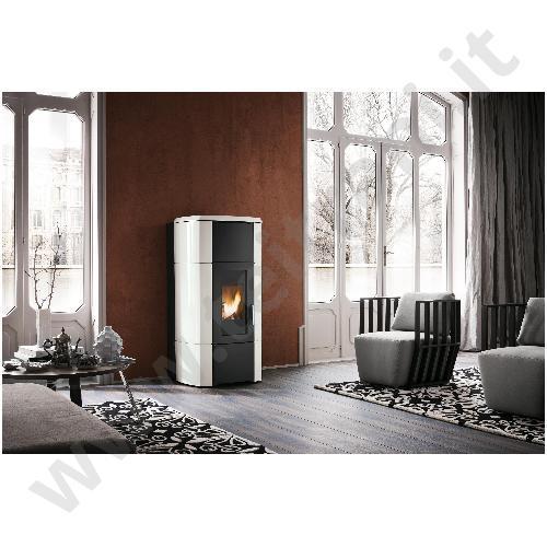 Palazzetti termostufa a pellet ecofire ermione - Termostufe a pellet palazzetti ...
