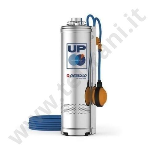 UPM2/3GE - PEDROLLO ELETTROPOMPA SOMMERSA MULTIGIRANTE CON GALLEGGIANTE  UPM 2/3 HP. 0,75  220v  PER ACQUA PULITA