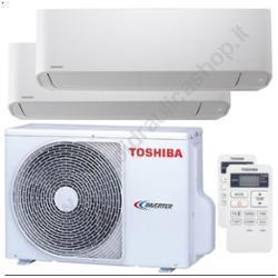 TOSHIBA DUAL SPLIT 9000+12000 SEIYA CON ESTERA 18000 R32