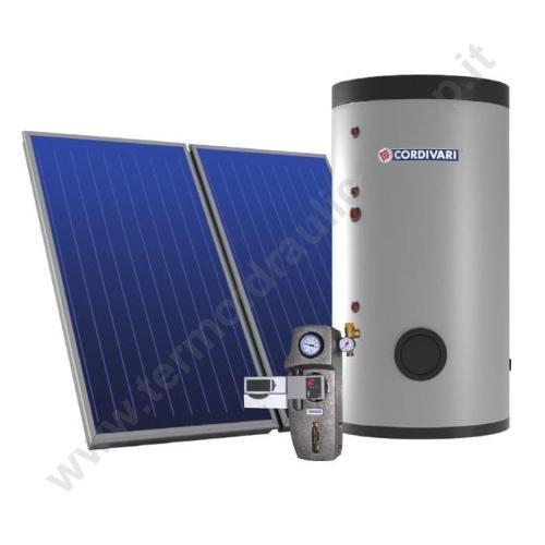 3410316618691 - PANNELLO SOLARE CIRCOLAZIONE FORZATA ECOBASIC 200 LITRI