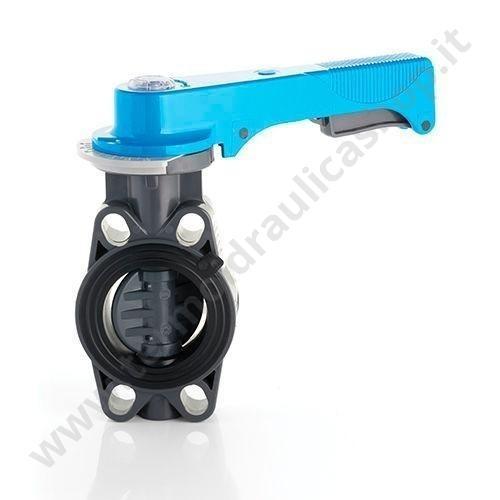 FEOV110 - VALVOLA A FARFALLA IN PVC DIAMETRO 110